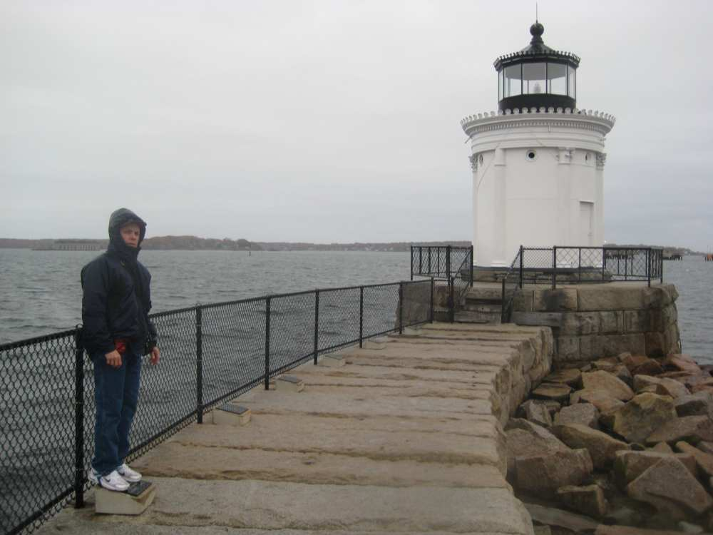 A_Portland_Brakewater_Lighthouse